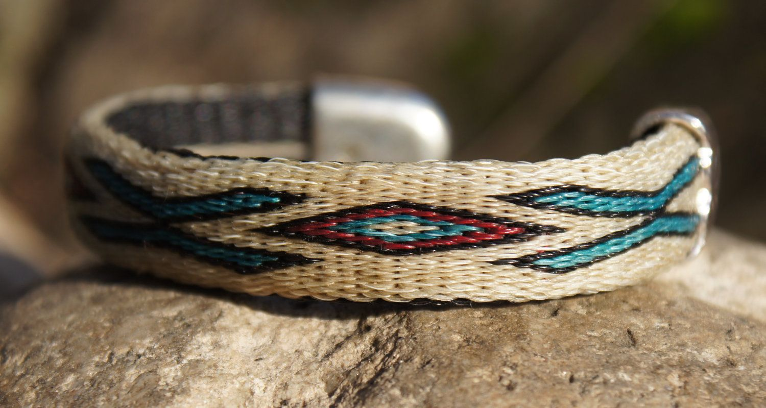 native american braided horse hair