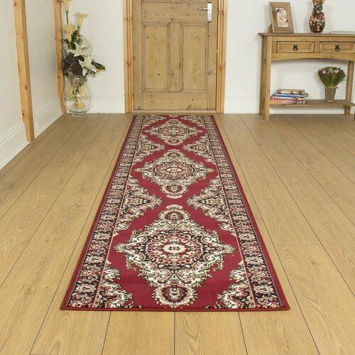 Photo of ClassicLiving Baronets Tufted Red Hallway Runner Teppich | Wayfair.co.uk