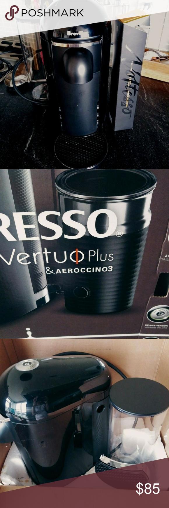 Nespresso VertuoPlus Coffee Maker + 7 Coffee Pods
