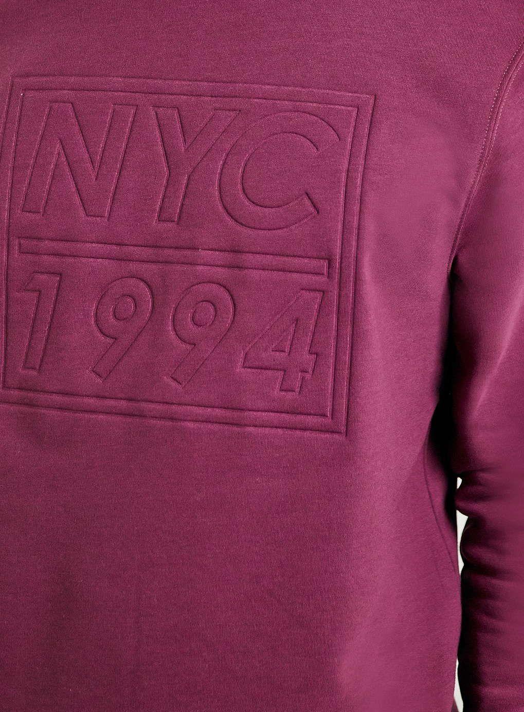 Photo 4 of Burgundy 1994 Embossed Sweatshirt