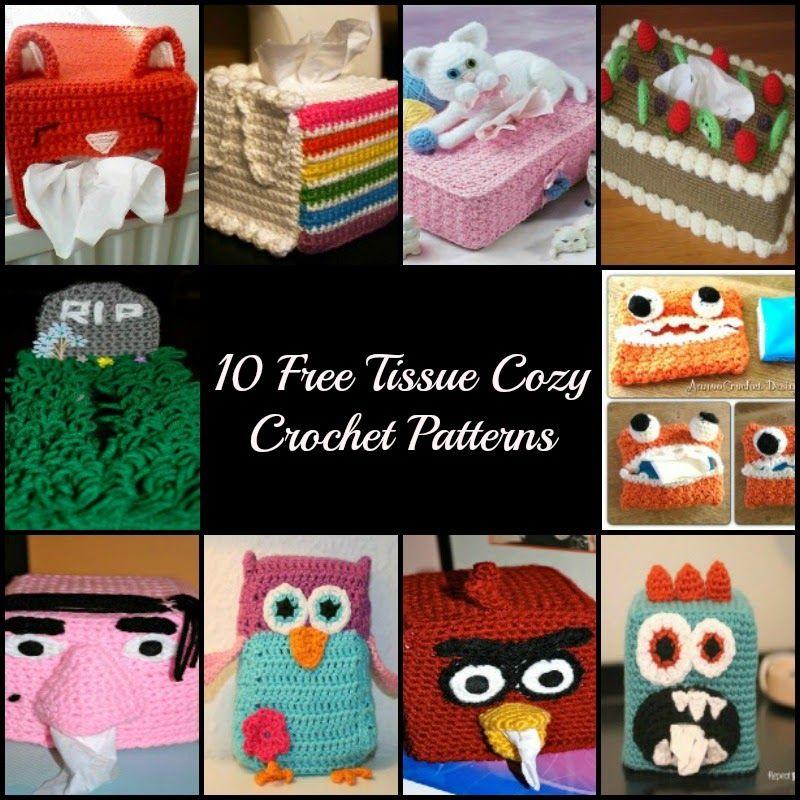 Crochet Free Patterns Tissue Box Cover Cozy Tissue Box Crochet