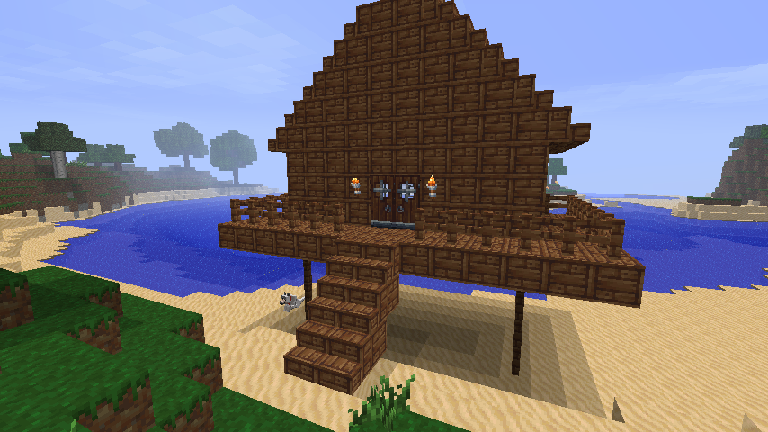minecraft beach house | beach house ideas? | minecraft | pinterest