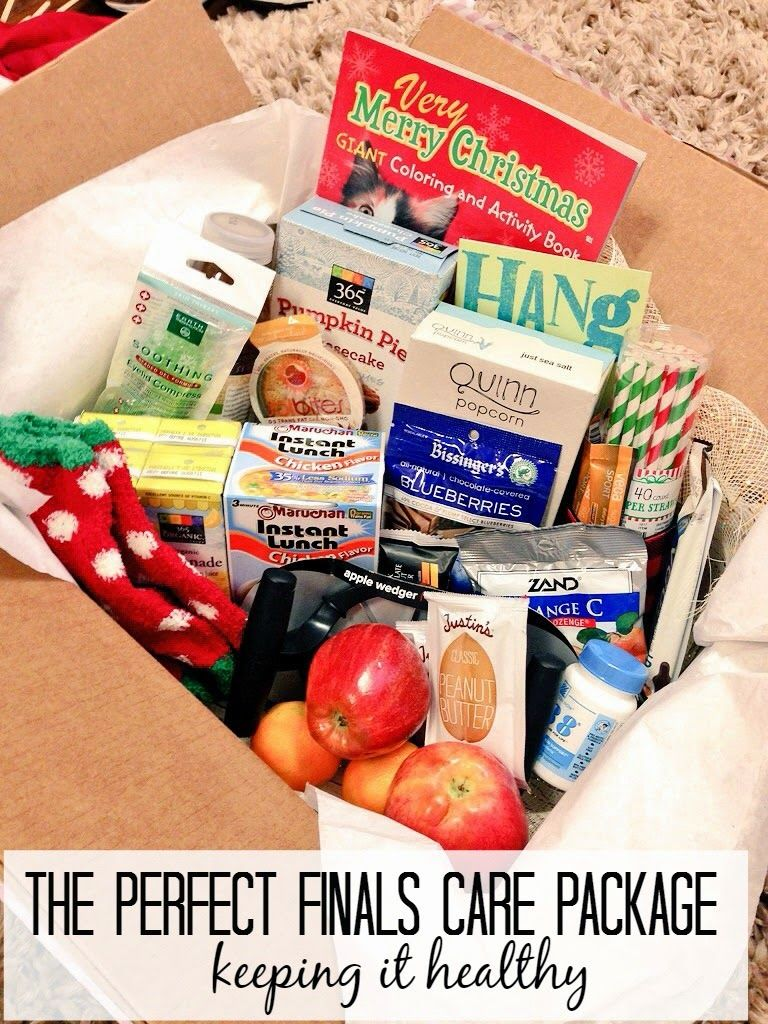 The Perfect Finals Care Package | Seeking the South