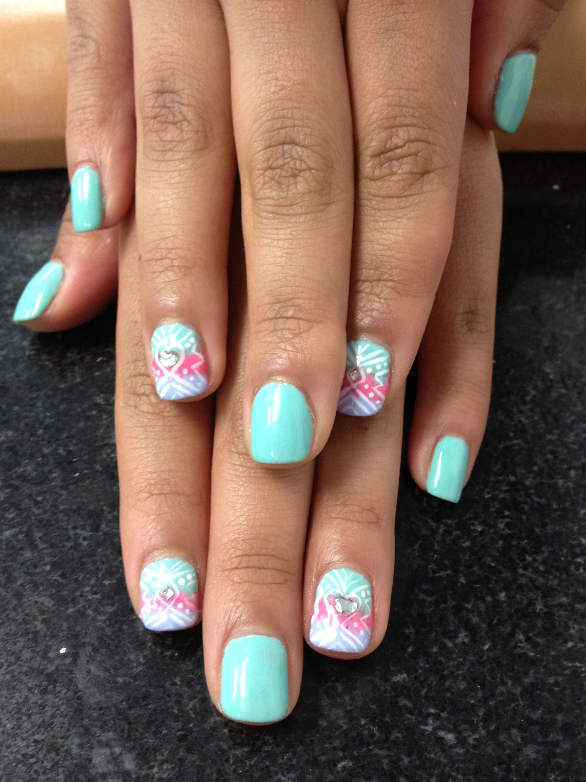 Hombre ans astec at once   My nails designs   Pinterest