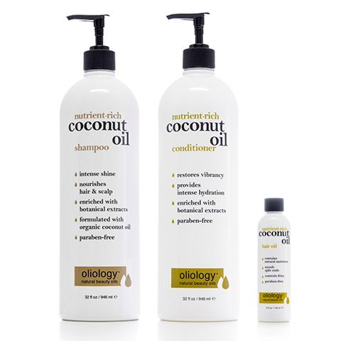 Oliology Coconut Oil Hair Care Set - buy this at Marshalls ...