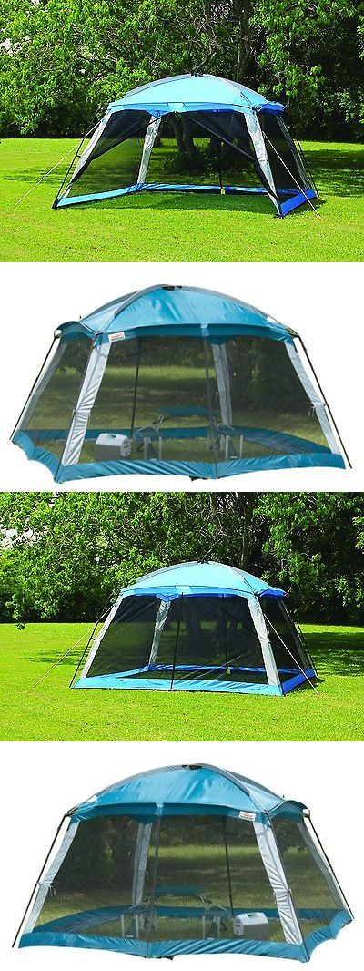 Canopies and Shelters 179011 Screened Canopy Shade Tent C&ing Instant Screen Outdoor Beach Food Shelter & Canopies and Shelters 179011: Screened Canopy Shade Tent Camping ...