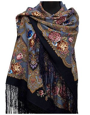 Russian shawls and scarves | RusClothing.com