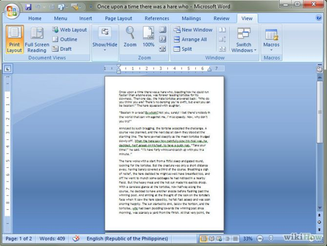 3 Ways To Change A Word Document To Jpeg Format Wikihow Microsoft Word Document Presentation Format Words