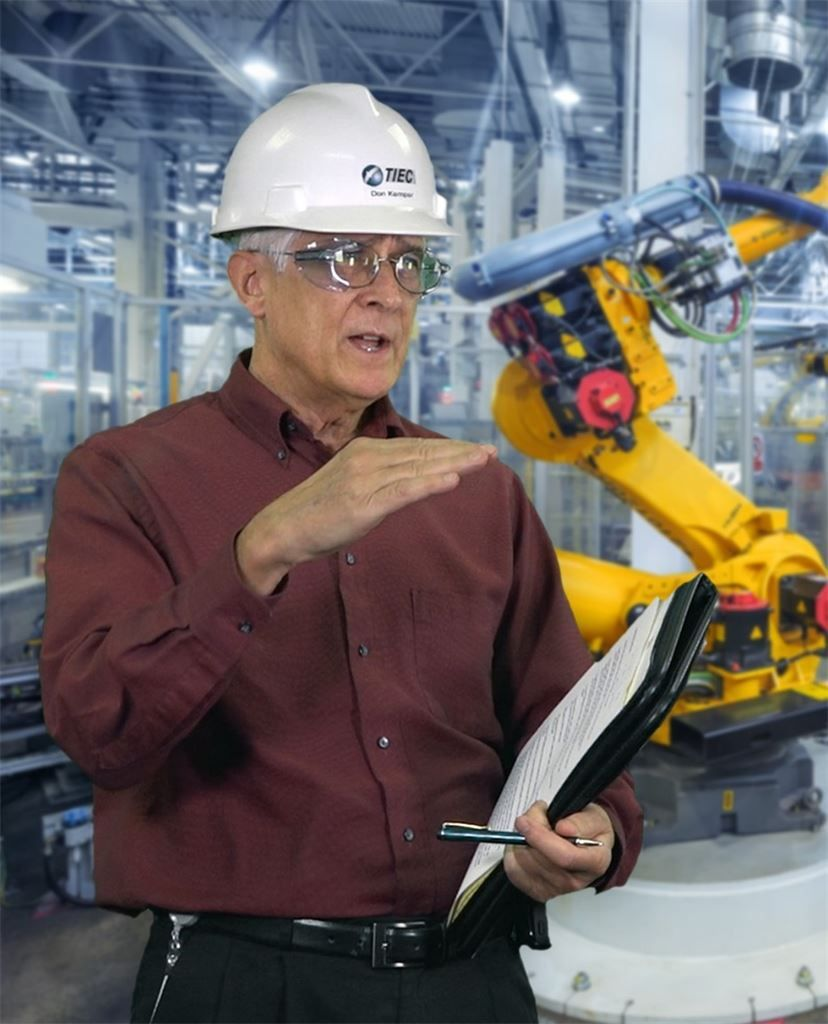 Don kemper as the global technical services manager at