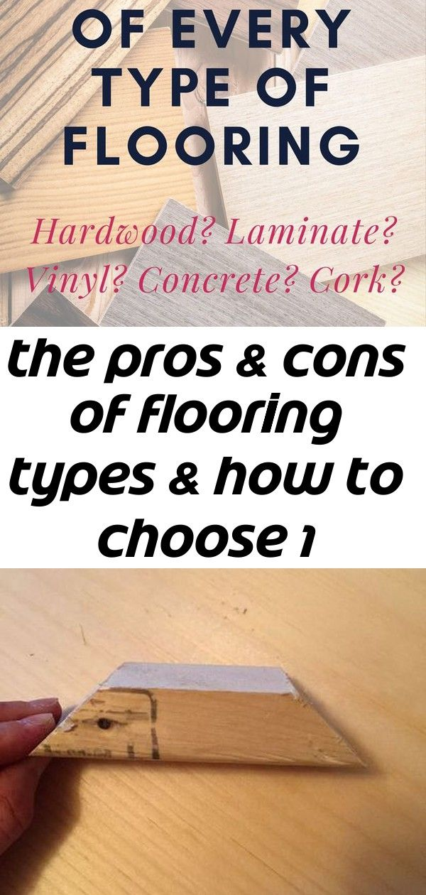 Learn all about the pros and cons of flooring types! From