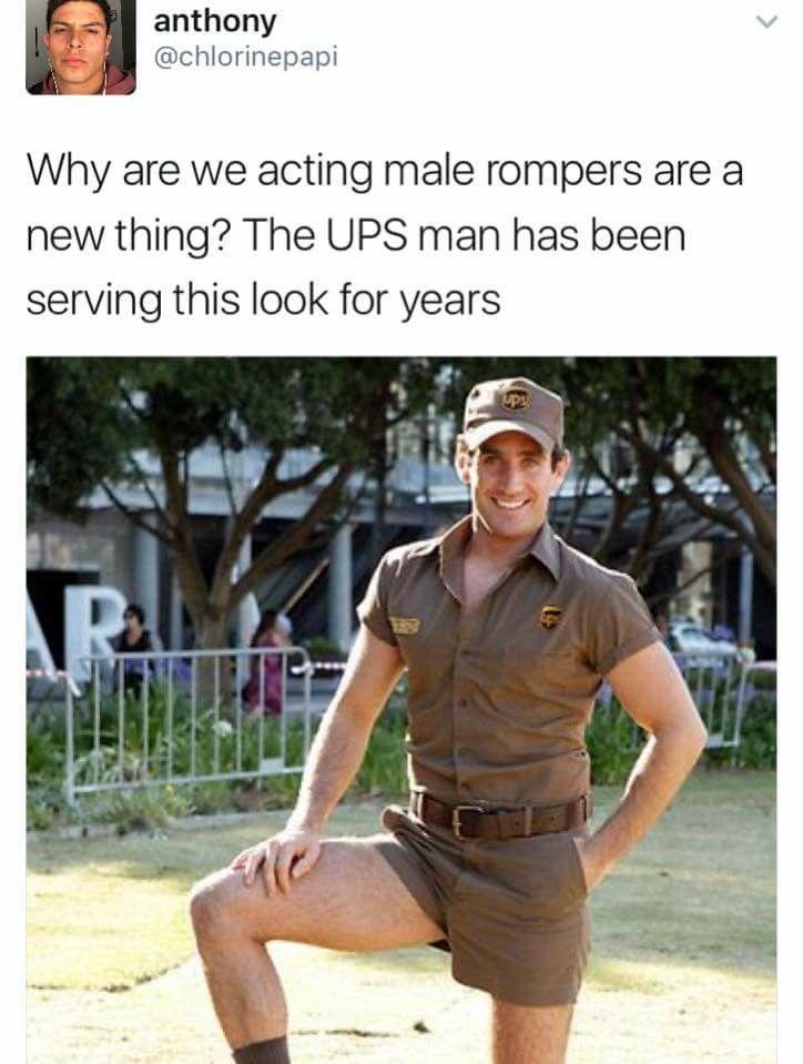 c33188035116 Rompers and UPS men