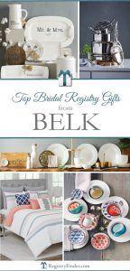 Belk's Top Bridal Registry Gifts   Weddings and Grooms