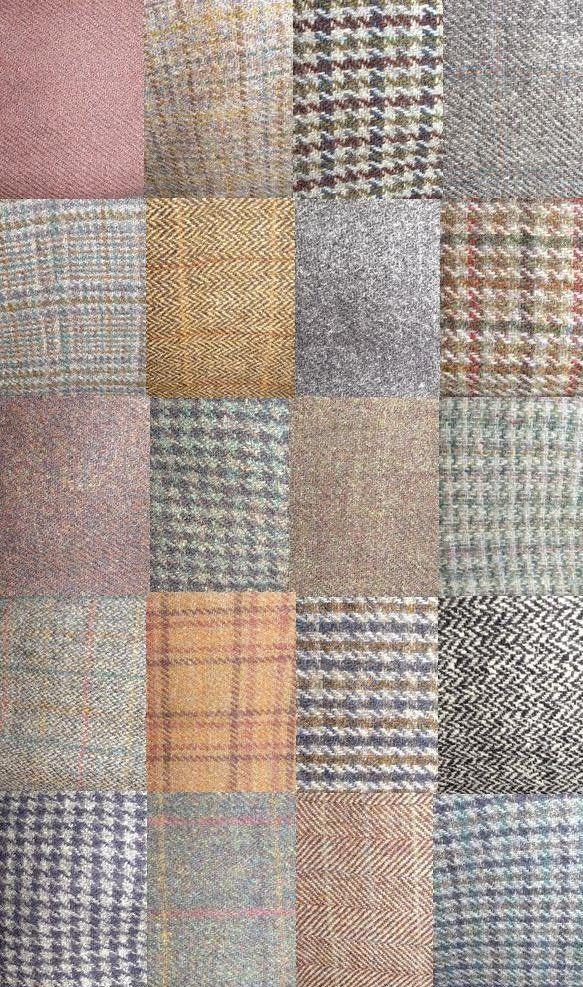 Just A Few Of The Harris Tweed Fabrics That Have Passed Through Our Hands Via The Harris Twee Harris Tweed Jacket Vintage Clothing Men Mens Harris Tweed Jacket