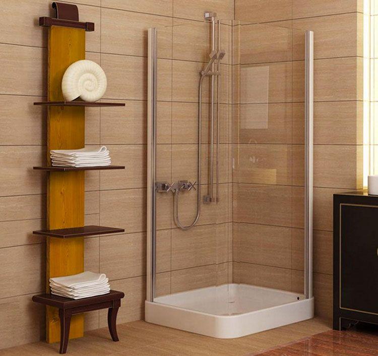 idee per scaffali e pensili da bagno n15