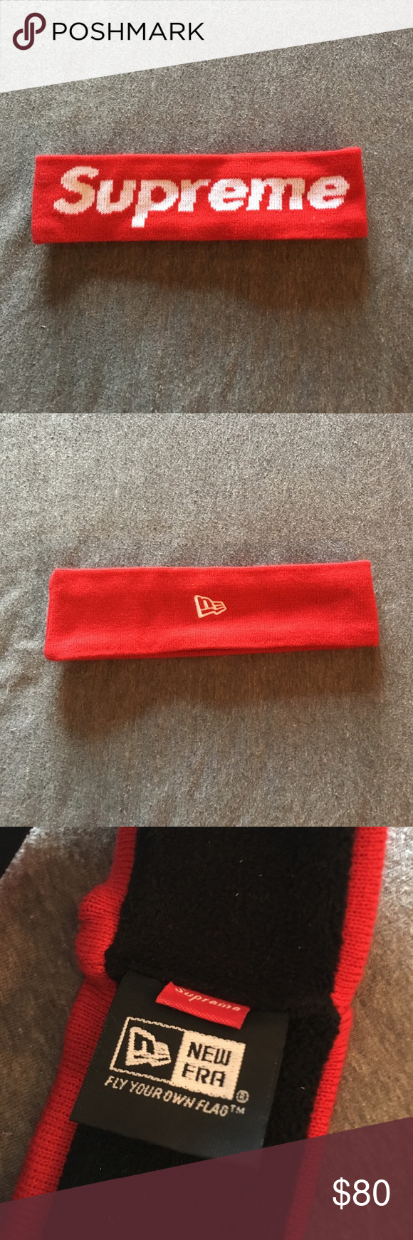 Supreme Headband Fw 14 Supreme Accessories Ear Warmers Things To Sell