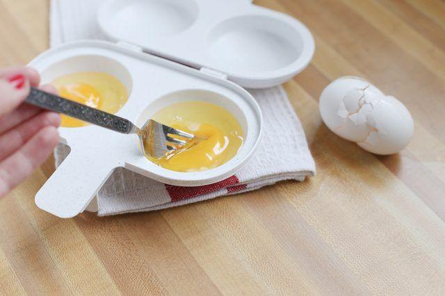 Microwave Egg Poacher Eggs