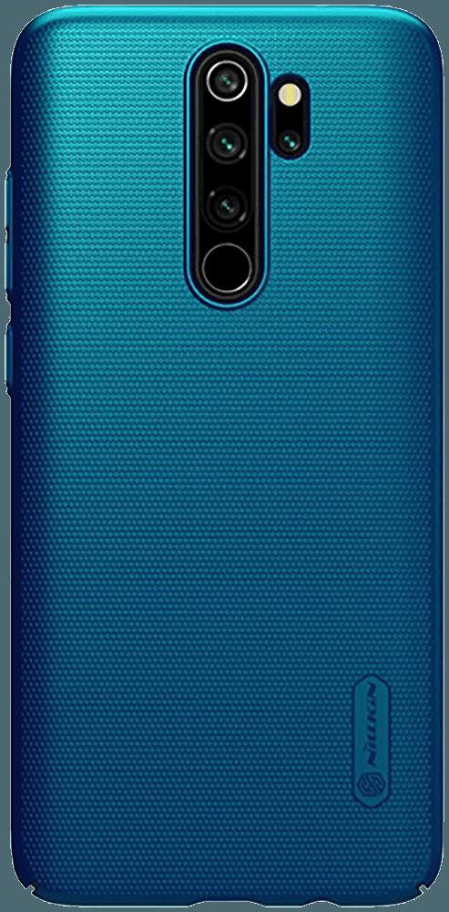 Kemény hátlap gyári NILLKIN gumírozott-érdes felületű sötétkék.  #telefontok #telótok #mobiltok #tok #webshop #case #védőtok #Samsung #Huawei #Xiaomi #Apple #IPhone #Galaxy #Lg #Nokia #trendi #kiegészítő #divat #Xiaomi #RedmiNote8Pro
