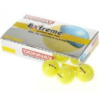 15 x Donnay Extreme Gelb Golfbälle