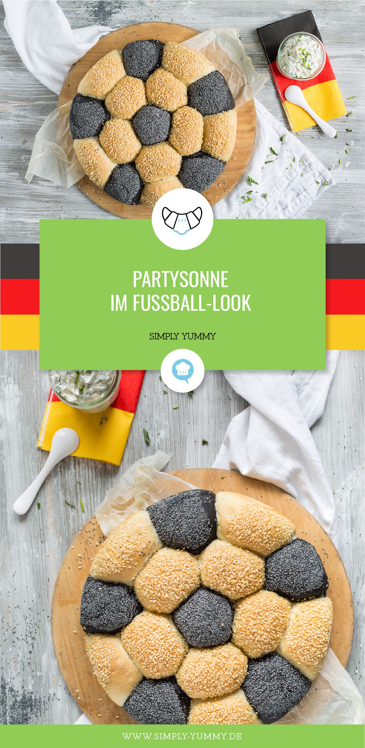 Photo of Partysonne im Fußball-Look