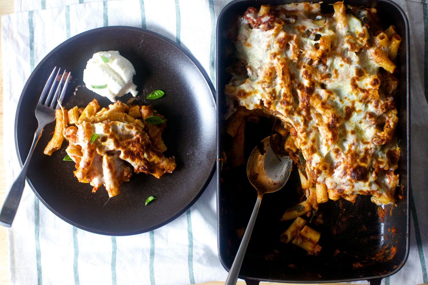 Smitten Kitchen baked ziti | Food | Pinterest | Comida