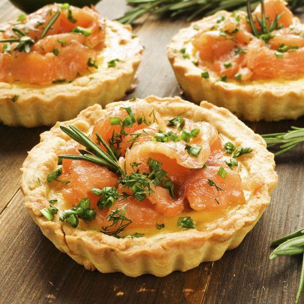 Tartelettes au saumon
