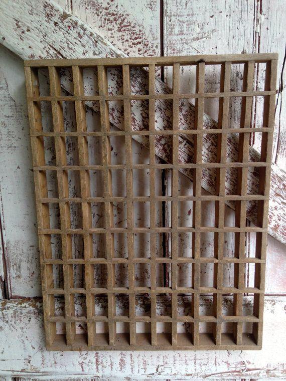 Vintage wooden floor grate or printer like shelf curio shelf to vintage wooden floor grate or printer like shelf curio shelf to display knic knacks primitive wall shelf ppazfo