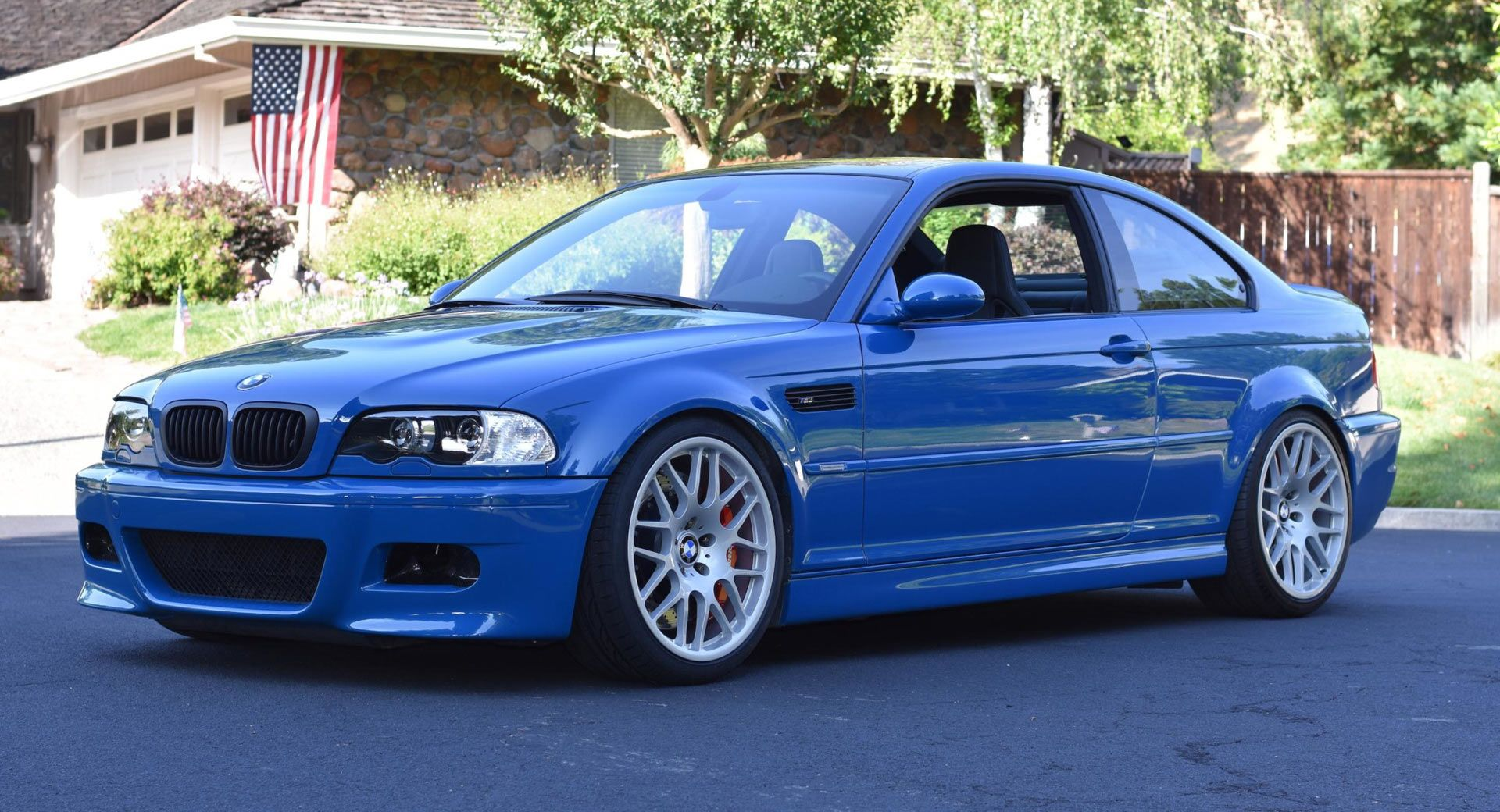 This 16k Mile Manual 2003 Bmw M3 E46 Is Stunning But It S Already Passed The 52k Mark Carscoops Bmw Bmw M3 2003 Bmw M3