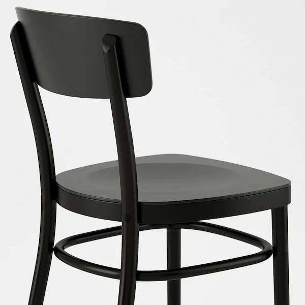 Idolf Chaise Noir En 2020 Chaise Fauteuil Ikea Et Decoration