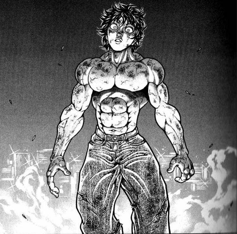 Baki Hanma By Ruanitodelaluna On Deviantart Martial Arts Anime Cyberpunk Anime Manga Tattoo