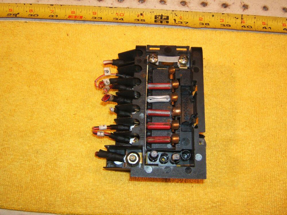 ebay #sponsored mercedes r129 300sl 500sl in trunk rear small fuse box  genuine oem 1 assembly