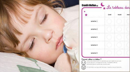 Proposez votre enfant de tenir un calendrier pour qu il - Comment arreter le pipi au lit la nuit ...
