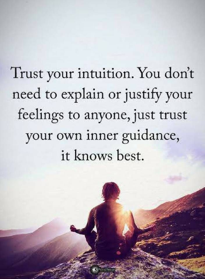 Intuition Quotes Quotes Trust Your Intuitionyou Don't Need To Exp Quotes
