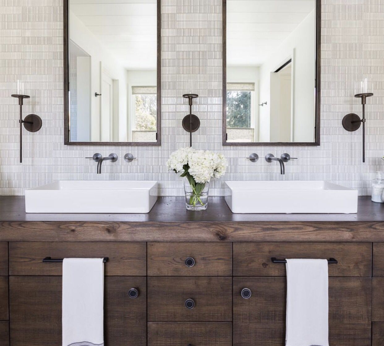 Pin by Shayla Velthuis on Powder Room   Pinterest   Vanities, Woods ...