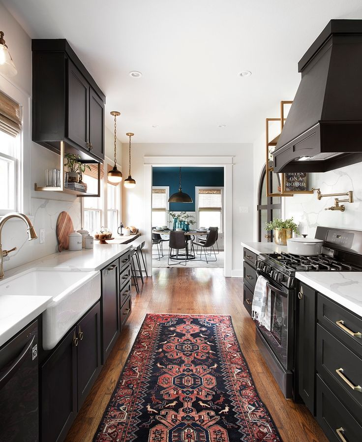 43 Extremely Creative Small Kitchen Design Ideas: Fixer Upper Kitchen, Joanna Gaines