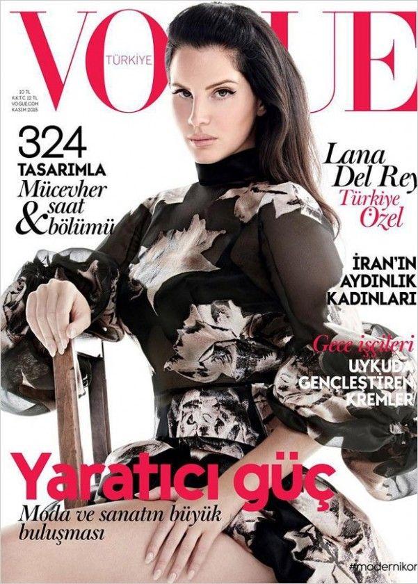 Glamorous Magazines: Lana Del Rey | Vogue Turkey November 2015