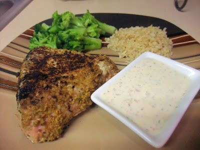 Sweet Beginnings: Pistachio-Crusted Tuna with Mustard-Dill Cream Sauce
