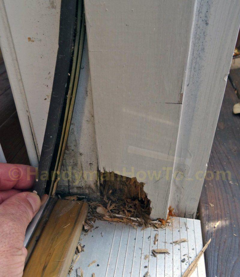 Remove Door Frame Weather Strip Door Frame Repair Exterior Door Frame Door Frame