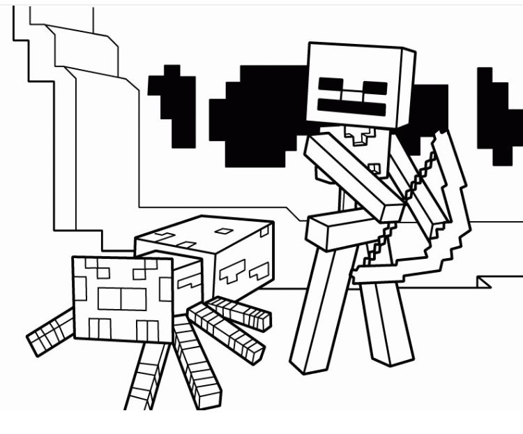 Minecraft Coloring Pages Bow And Arrow Gif 792 612 Pixels In 2020 Minecraft Coloring Pages Coloring Books Coloring Pages