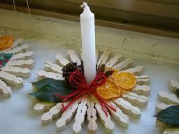 Resultado De Imagen Para Lavoretti Natale Con Mollette