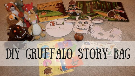 Diy Gruffalo Story Bag Or Sack Post Includes A List Of Suggested Contents