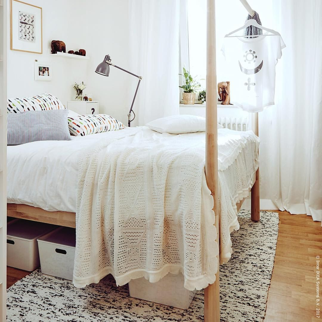 Ikea Gjora Bed Via Ikeadeutschland Bedroom Decor On A Budget