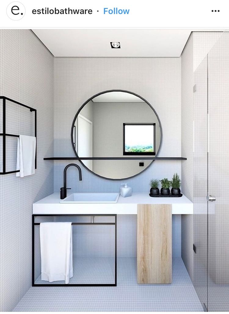 Simple Stylish Bathroom With Images Modern Bathroom Design