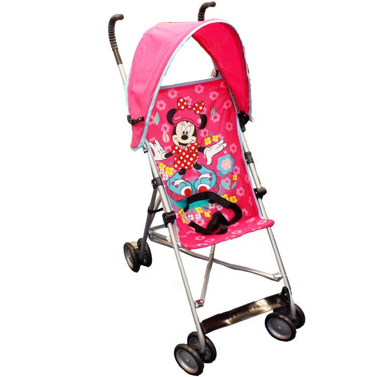 Disney Umbrella Stroller with Canopy - Minnie  sc 1 st  Pinterest & Disney Umbrella Stroller with Canopy - Minnie | baby item ...