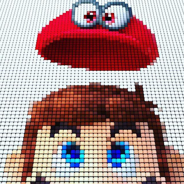 Pixelart Super Mario Odyssey C4d