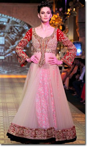 Manish Malhotra - love the skirt\'s material and the purple and ...