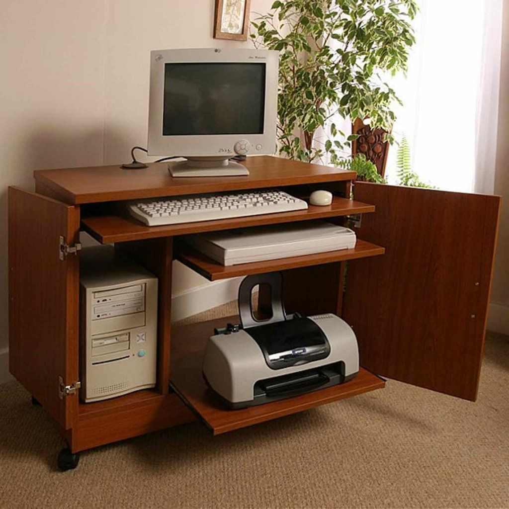 Small Computer Desk With Printer Shelf New Living Room Set Check More At Http Www Gameintown Com Small Computer Desk With Printer Shelf Printer Shelf