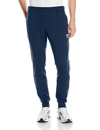 fd0f08eb212 adidas Originals Mens Superstar Cuffed Track Pants Collegiate Navy Large  >>> You can get more details by clicking on the image.(This is an Amazon  affiliate ...