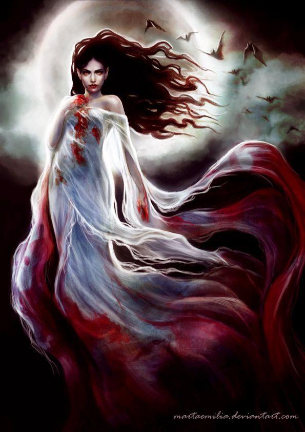 Pixelated Nightmares Vampire By MartaEmilia