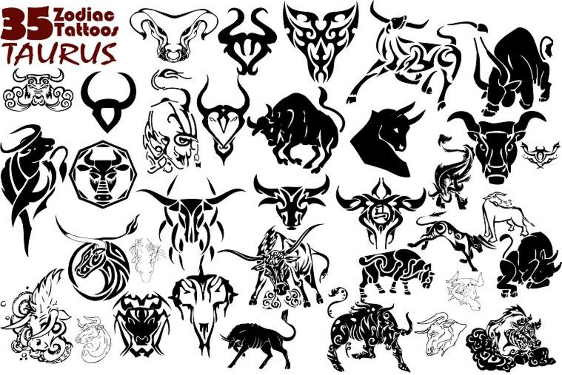 Pics photos taurus tattoos bull tattoo art - Taurus Tattoo Ideas Ink Zodiac