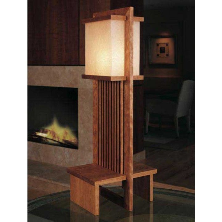 Frank Lloyd Wright Lamp Downloadable Plan Wright Furniture Plans Frank Lloyd Wright Lamp Furniture Plans